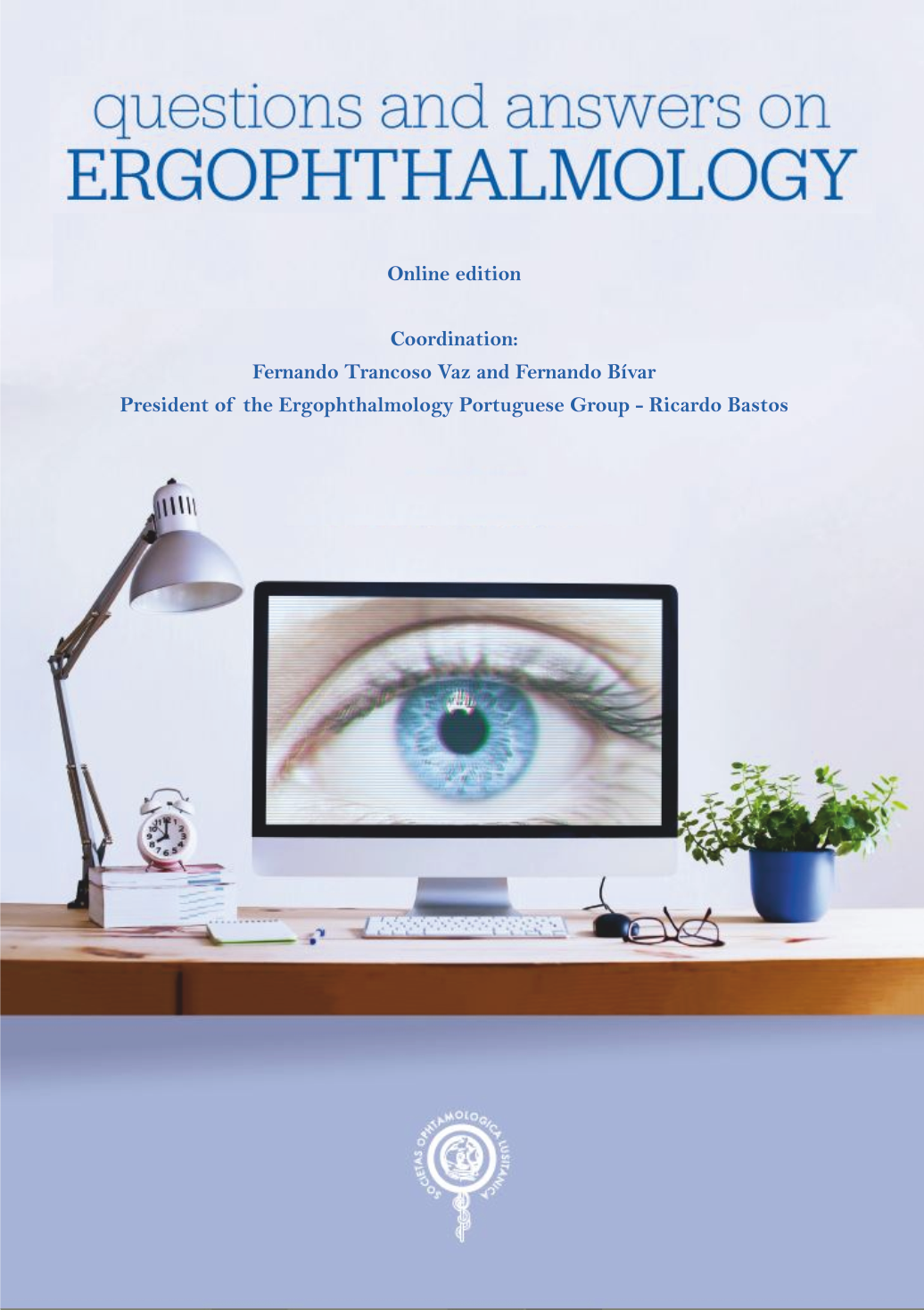 Questions and answers in Ergophthalmology. Book cover